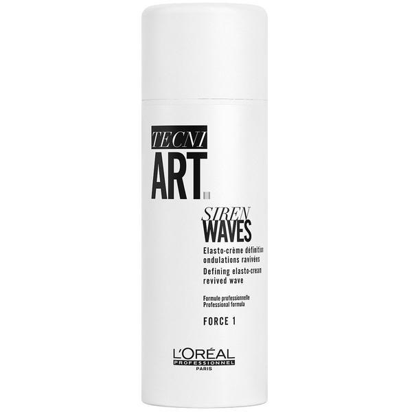 Crema pentru Bucle - L'Oreal Professionnel Tecni Art Hollywood Waves Siren Waves Defining Elasto-Cream 150ml imagine produs