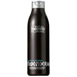 Sampon Revitalizant pentru Barbati - L'Oreal Professionnel Homme Tonique Revitalizing Shampoo for Normal Hair, 250ml