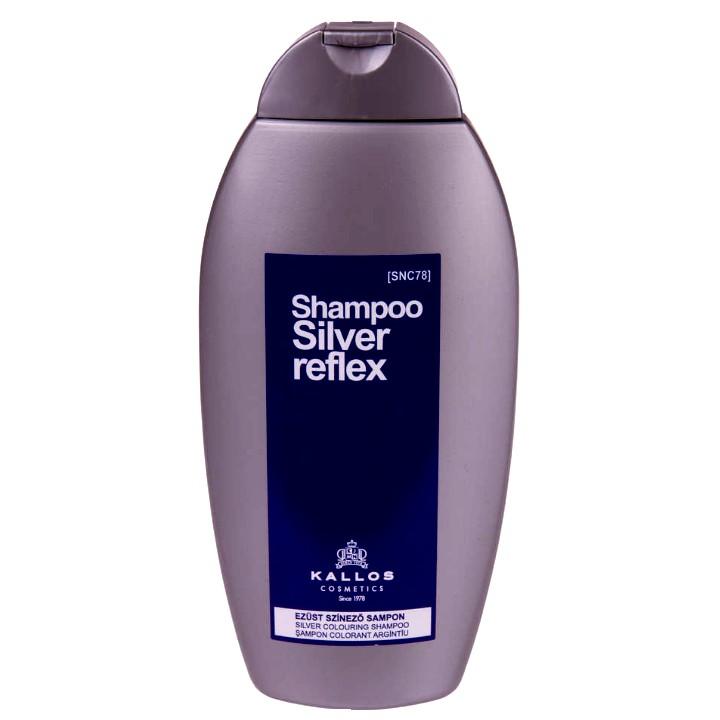 Sampon Colorant Argintiu - Kallos Silver Reflex Shampoo 350ml imagine produs