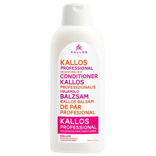 Balsam pentru Par Uscat - Kallos Professional Nourishing Hair Conditioner 1000ml imagine produs