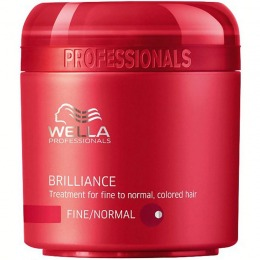 Masca pentru Par Fin sau Normal - Wella Professionals Brilliance Treatment 150 ml
