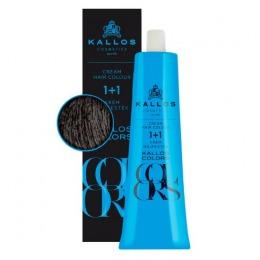 Vopsea Permanenta - Kallos Colors Cream Hair Colour nuanta 6C Blond Cenusiu Inchis