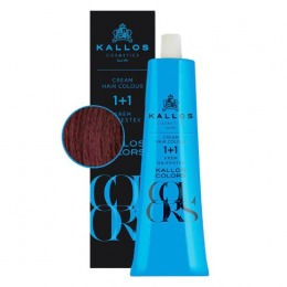 Vopsea Permanenta - Kallos Colors Cream Hair Colour nuanta 7TR Roscat Francez