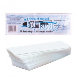 Benzi pentru Epilat - Kallos Epi-land Body Strips, 20 buc