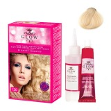 Vopsea Permanenta - Kallos Glow Long Lasting Cream Hair Colour Nuanta 120 Blond Luminos