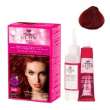 Vopsea Permanenta - Kallos Glow Long Lasting Cream Hair Colour Nuanta 660 Roscat Inchis