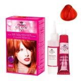 Vopsea Permanenta - Kallos Glow Long Lasting Cream Hair Colour Nuanta 844 Roscat Aramiu Intensiv
