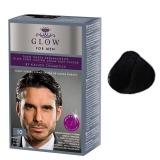Vopsea Permanenta pentru Barbati - Kallos Glow For Men Long Lasting Cream Hair Colour Nuanta 10 Negru