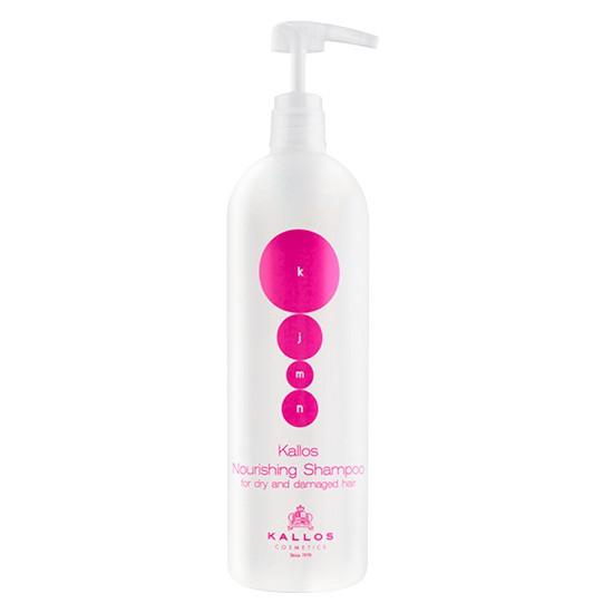 Sampon pentru Par Uscat si Deteriorat - Kallos KJMN Nourishing Shampoo for Dry and Damaged Hair 1000ml imagine
