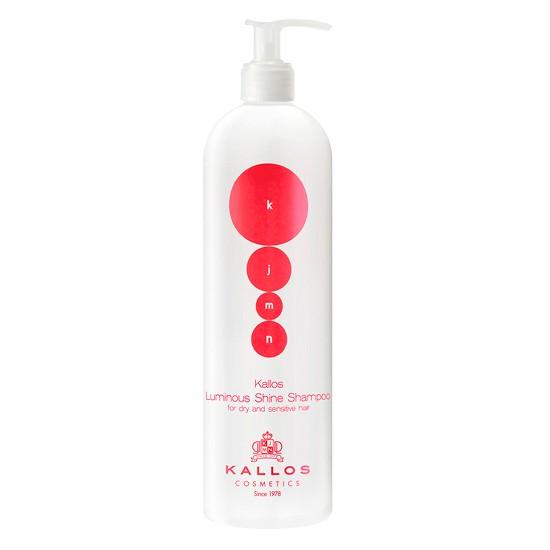 Sampon pentru Stralucire - Kallos KJMN Luminous Shine Shampoo for Dry and Sensitive Hair 500ml imagine