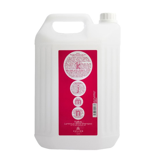 Sampon pentru Stralucire - Kallos KJMN Luminous Shine Shampoo for Dry and Sensitive Hair 5000ml imagine