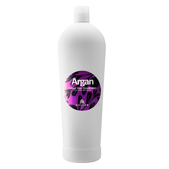 Balsam cu Aroma de Ulei de Argan pentru Par Vopsit - Kallos Argan Colour Hair Conditioner 1000ml imagine produs