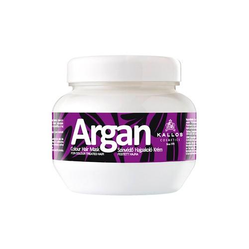 Masca cu Ulei de Argan pentru Par Vopsit - Kallos Argan Colour Hair Mask 275ml imagine produs