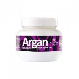 Masca cu Ulei de Argan pentru Par Vopsit - Kallos Argan Colour Hair Mask 275ml