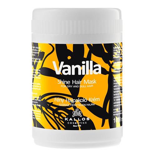 Masca cu Aroma de Vanilie pentru Stralucire - Kallos Vanilla Shine Hair Mask 1000ml imagine produs