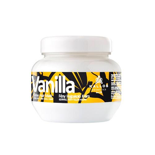 Masca cu Aroma de Vanilie pentru Stralucire - Kallos Vanilla Shine Hair Mask 275ml imagine produs