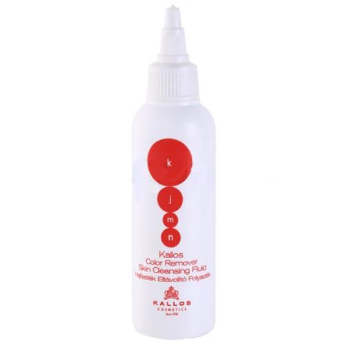 Lichid pentru Indepartarea Vopselei de Par - Kallos KJMN Color Remover Skin Cleansing Fluid 100ml imagine produs