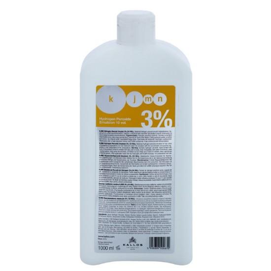 Crema Oxidanta 3% - Kallos KJMN Hydrogen Peroxide Emulsion 3% 10 vol 1000ml imagine produs