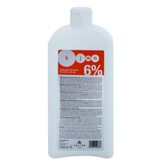 Crema Oxidanta 6% - Kallos KJMN Hydrogen Peroxide Emulsion 6% 20 vol 1000ml imagine produs