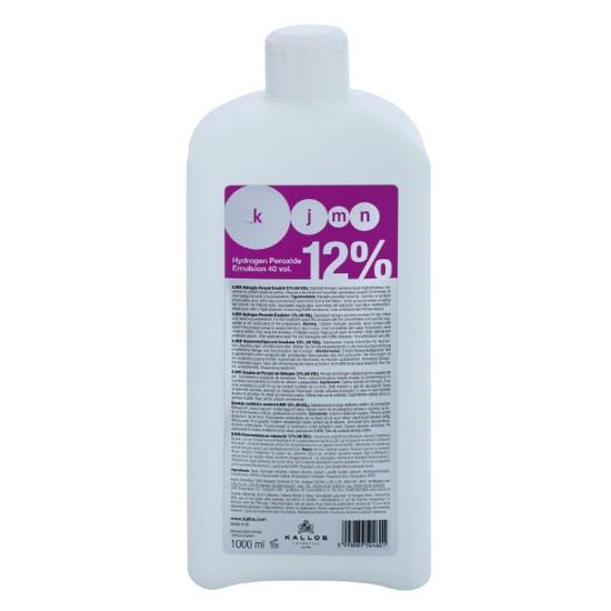 Crema Oxidanta 12% - Kallos KJMN Hydrogen Peroxide Emulsion 12% 40 vol 1000ml imagine produs