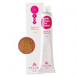 Vopsea Permanenta - Blond Foarte Deschis cu Nuanta de Aur Cenusie - Kallos KJMN Cream Hair Colour nuanta 9.31 Very Light Golden Ash Blond 100ml