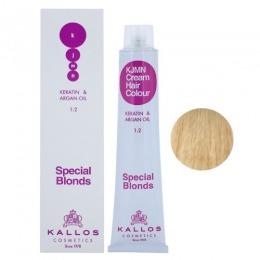Vopsea Permanenta – Blond Ultra Special – Kallos KJMN Cream Hair Colour Special Blonds nuanta 12.0 Special Ultra Blond 100ml de la esteto.ro