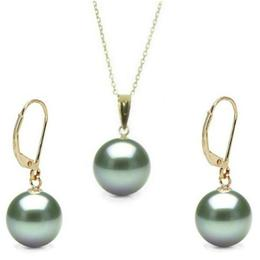 Set Aur si Perle Tahitiene Mari Premium - Cadouri si Perle