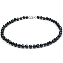 Colier Clasic Perle Negre - Cadouri si Perle