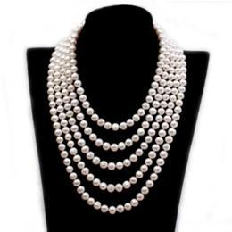 Colier Extravagance cu perle albe - Cadouri si Perle