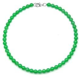 Colier Jad Verde Malaezian - Cadouri si Perle