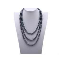 Colier Extra-lung Perle Negre - Cadouri si Perle