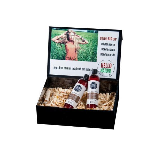 Pachet Bio reparare si hidratare cu ulei de cocos Cece of Sweden (Sampon 1570 si Balsam 1571 cu ulei de cocos ) 2x300 ml