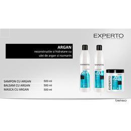 Set cadou argan pentru par foarte uscat Experto Professional 3x500 ml cod. 4114/4115/4116