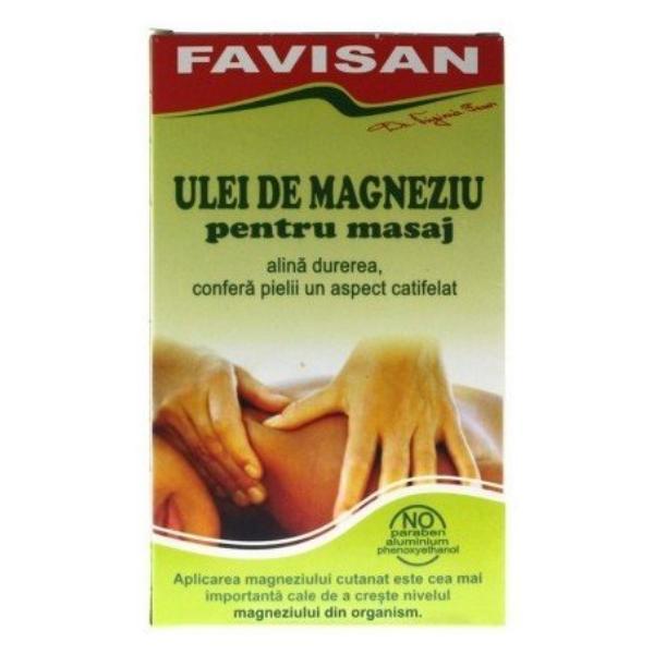 Ulei de Magneziu pentru Masaj Favisan, 125ml imagine produs