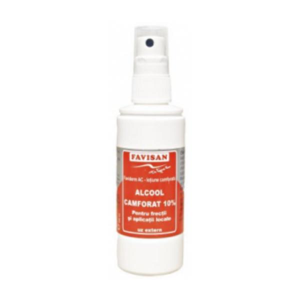 Alcool Camforat 10% Faviderm AC Favisan, 100ml imagine produs