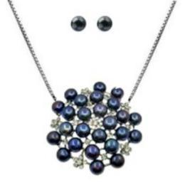 Set Imperial Negru - Cadouri si Perle