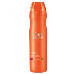 Imagine Sampon Volum Pentru Par Fin Si Normal - Wella Professionals Enrich Volumizing 250 Ml
