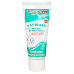 Crema Tip Unguent pentru Masaj Favisalv Favisan, 40ml