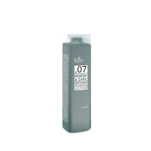 Sampon pentru Par si Scalp Gras - Silky Remedy & Care Sebo Therapy Shampoo Greasy Scalp 250ml imagine