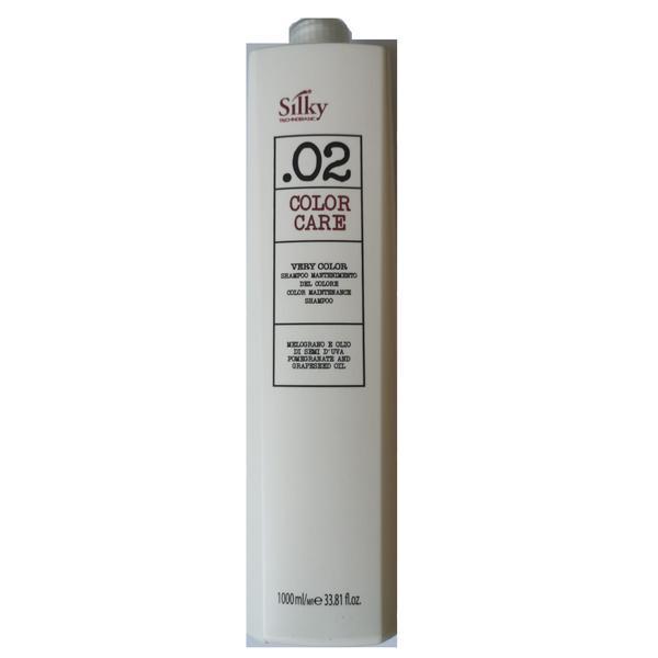 Sampon pentru Par Vopsit - Silky Color Care Shampoo Color Maintenance 1000ml imagine