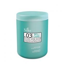 Masca Hidratanta pentru Par Uscat si Deteriorat - Silky Deli Care Hydro Herb Mask 1000ml