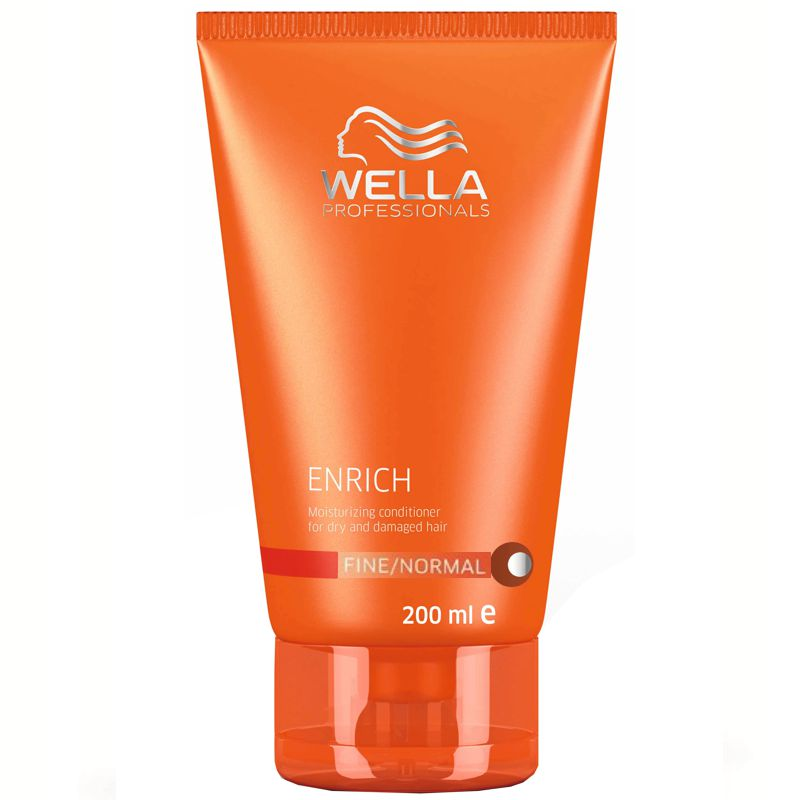 balsam hidratant pentru par fin si normal - wella professionals enrich moisturizing conditioner 200 ml.jpg
