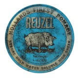Pomada Fixare Puternica si Aspect Lucios - Reuzel Strong Hold Water Soluble Blue Pomade 113g