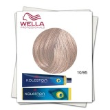 Vopsea Permanenta - Wella Professionals Koleston Perfect nuanta 10/95 blond luminos albastrui rosu