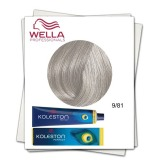 Vopsea Permanenta - Wella Professionals Koleston Perfect nuanta 9/81 blond deschis perlat cenusiu