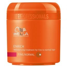 Masca Hidratanta pentru Par Fin si Normal - Wella Professionals Enrich Moisturizing Mask 150 ml