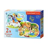 Puzzle 2 in 1 - Snow White and the Seven Dwarfs