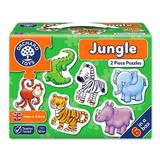 Puzzle - Jungle. Jungla